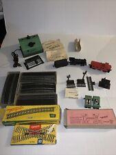Vintage Fleischmann Ho Locomotve/ Tender /caboose Tracks Transformer Etc.w/boxes