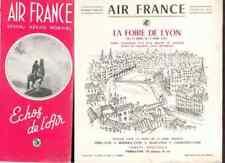 AIR FRANCE Echos de l'air # 45 1951 La foire de Lyon