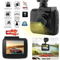 2.4in 1080P Car DVR Kamera GPS Video Recorder Auto Nachtsicht WLAN 128GB Dashcam