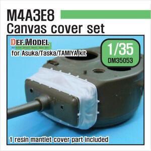 DEF.MODEL, DM35053 , M4A3E8 Mantlet Canvas Covet set ,1:35