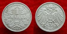 Germany / Empire - 1 Mark 1908 G ~ silver