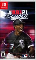 MLB RBI Baseball 21 Nintendo Switch Game (#)