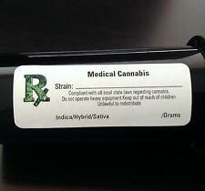 1000 Rx ICON (*ALL STATES*) MEDICAL CANNABIS MARIJUANA LABELS - MMJ STICKERS
