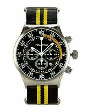 Nautica Men's NST Chronograph Multifuntion Stainless Steel 45mm Watch