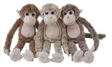 42CM LONG MONKEY PLUSH - 3180 HANDS GRIP STICK CUDDLY SOFT STUFFED APE TEDDY TOY