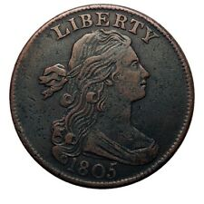 Large cent/penny 1805 collector coin *
