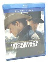 Brokeback Mountain (Blu-ray+DVD+Digital Copy, 2012) NEW