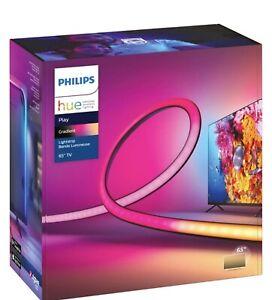 """Philips Hue Play Gradient Lightstrip for 65"""" TV, LED Backlight Light Strip"""