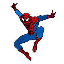 Spiderman SPIDER-MAN - Jump - Aufnäher Aufbügler Iron On Patch Applikation #9196