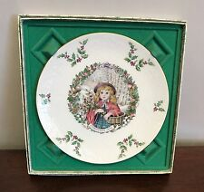Royal Doulton 1978 Merry Christmas Collectors Plate New In Box
