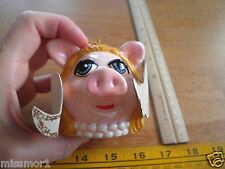 1979 Muppets Christmas Ornament VINTAGE Miss Piggy Angel wings ceramic