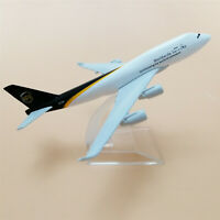 Air UPS Airlines Boeing 747 B747 400 Aircraft Airplane Model Plane Toy 16cm