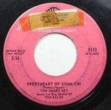 Jazz 45 The Smart Set - Sweetheart Of Sigma Chi / Like Young (Toute Jeune) On Wa