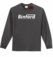 Binford Tools Mens Long Sleeve T Shirt Home Improvement Funny Tool Time Tee Z1