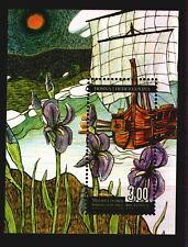 059 Bosnia Croatia 2007 - Flora - Iris Illyrica - Ship - MNH Souvenir Sheet