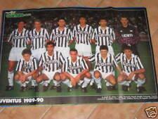 MAXI POSTER JUVENTUS 1989/90 VITTORIA COPPA UEFA CALCIO