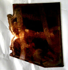 6 Inch Arizona State Shape Rough Rusty Metal Vintage Stencil Ornament Craft Sign