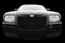 Chrysler 300 Bentley black mesh grill chrome bently grille