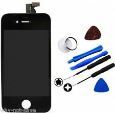 LCD Digitizer Display Glass Screen Assembly Replacement for BLACK iPhone 4S 4GS