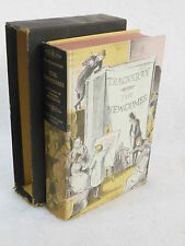 Thackeray THE NEWCOMES Heritage Press in Slipcase with Sandglass