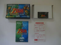 """GAMEBOY ADVANCE """"The Legend of Zelda A Link to the Past 4 Swords"""" GBA From Japan"""