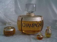 Großfactice Champagne von YSL 17 cm + EdT Spray + Kleinfactice + Miniatur