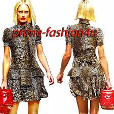Dolce & Gabbana D&G Animal  print Pleated short Skirt