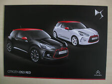 Citroen DS3 'Red' Special Edition UK Sales Brochure (2012)