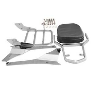 Sissy Bar Passenger Backrest For Suzuki Boulevard C50 Intruder C800 C800C VL400