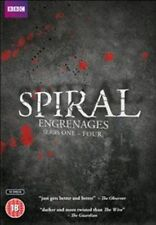 Spiral Engrenages Season 1 2 3 4 DVD The Complete Series 1-4 Collection