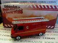 camion IXO 1/43  POMPIERS Fire TEST : CITROËN C35