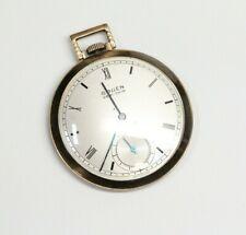 VTG GRUEN Veri-Thin Precision Pocket Watch - RARE - 1943 - Includes Box, Receipt