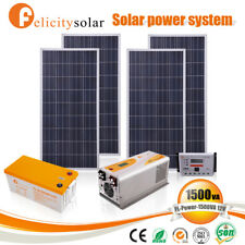 1.5KVA Solar panel solar energy system Free electricity