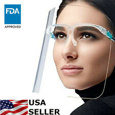 Face Shield Guard Protector Glasses Clear Reusable Mask washable Anti-Splash fog