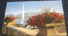 Switzerland Geneve Jet d'eau et le Saleve - posted 1964