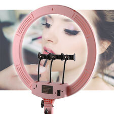 18''Touch screen Color change Ring light+3pcs Phone Holder Set for Video Makeup