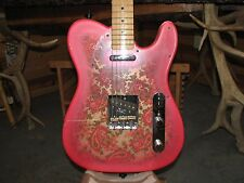 Fender Telecaster pink paisley (Japan)