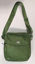 Tumi SINGAPORE Cross body MESSENGER Nylon Bag & Leather Accents 481981LSO Green