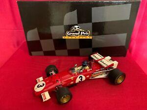 Exoto 1:18 Ferrari 312B Mexico Grand Prix Winner Car No.3 - Jacky Ickx
