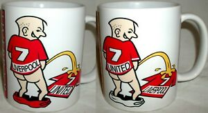 Funny Wee On Liverpool United  Tea Mug Football Fan Manchester Shirt Rivalry