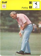 ARNOLD PALMER 1978 Sportscaster card #41-05 Putting
