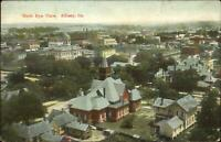 Albany GA Birdseye View c1910 Postcard