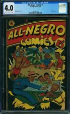 All-Negro Comics #1 CGC 4.0 1947 Rare book! New Case! G9 312 cm bo clean