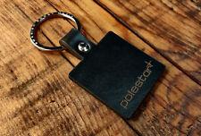 Polestar Leather Keyring Keychain Free UK Delivery - Square Version