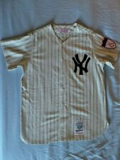 Mitchell Ness M&N New York Yankees Mickey Mantle Authentic Wool Jersey USA 44 L