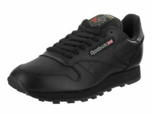Reebok Classic Leather CL 116 Black Fashion Casual Mens Shoes Sneakers Sizes