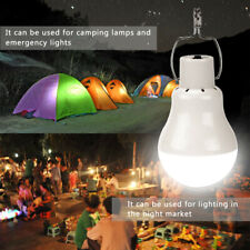 15/20W Solar Power Panel Bulb LED Lantern Outdoor Tent Hanging Light   /m