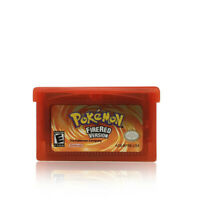 Pokémon FireRed Version🔥Nintendo Game Boy Advanced GBA Classic Console