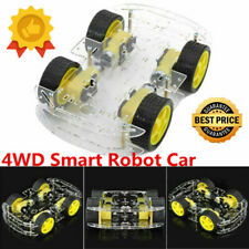 DIY DC 4WD Smart Robot Car Chassis Kit With Magneto Speed Encoder For Arduino