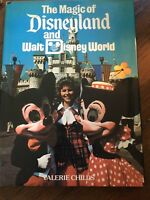 The Magic of Disneyland & Disney World by Valerie Childs (1979 Hardcover) 1st ed